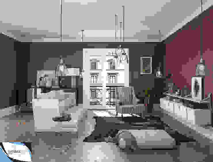 Modern living room by Gustavo Bispo designer Unipessoal LDA Modern