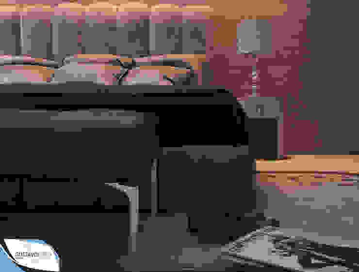 Modern style bedroom by Gustavo Bispo designer Unipessoal LDA Modern