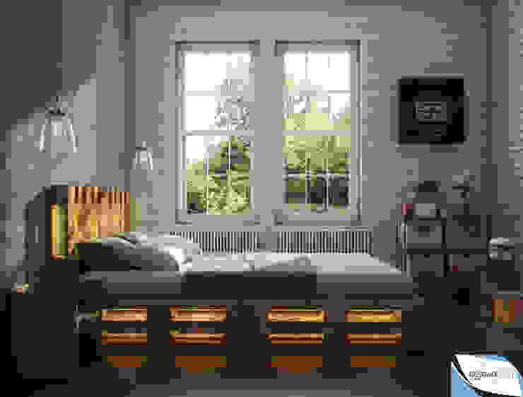 Modern style bedroom by Gustavo Bispo designer Unipessoal LDA Modern Wood Wood effect