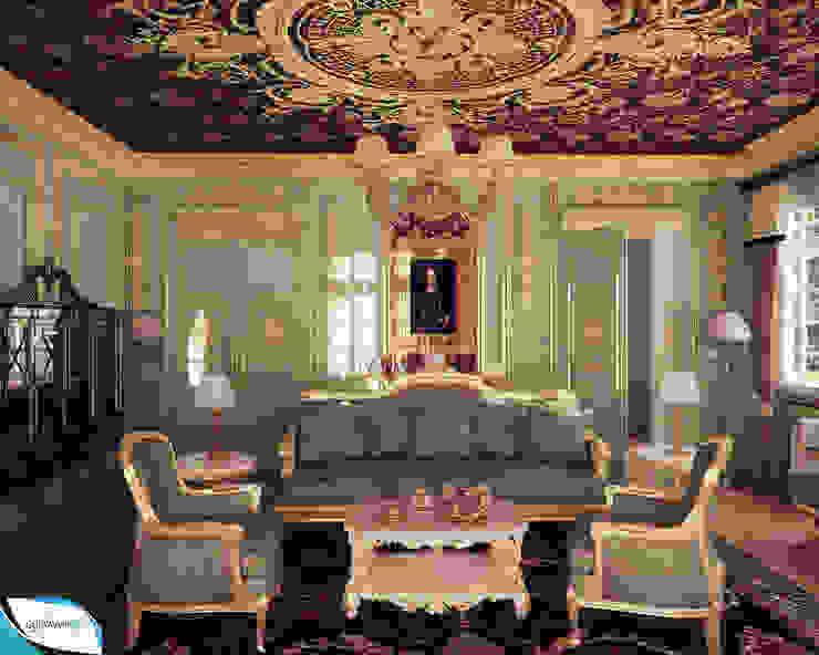 Salon classique par Gustavo Bispo designer Unipessoal LDA Classique