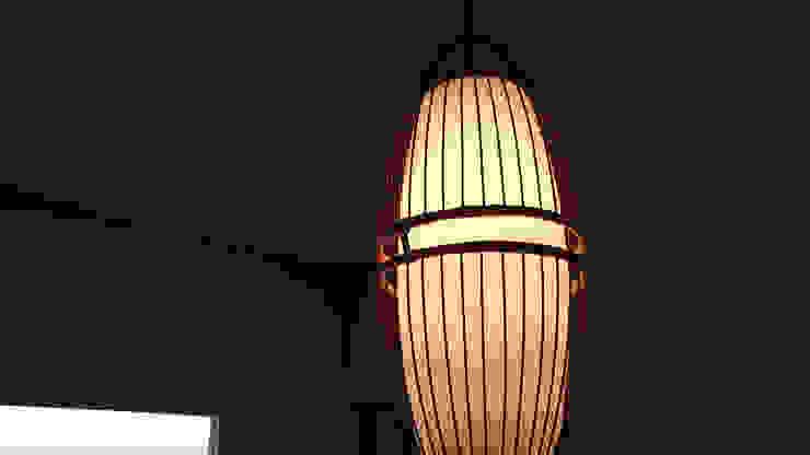 照明器具 カワサキジムショ リビングルーム照明 竹 白色