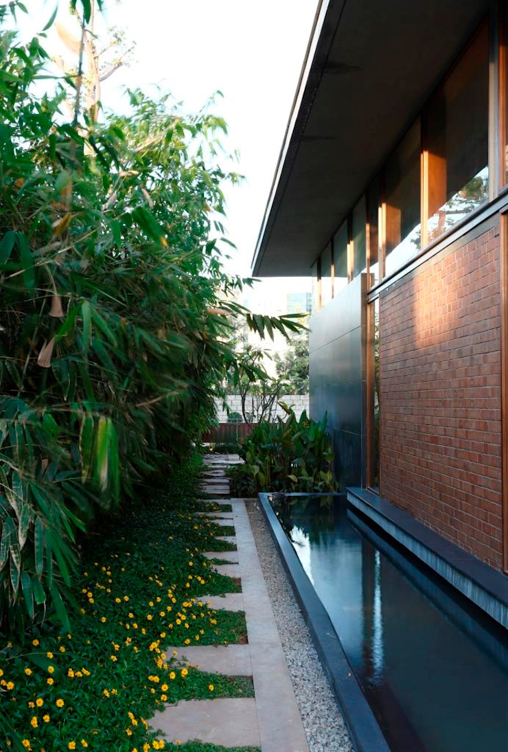 Shah Residence Tropical style houses by STUDIO MOTLEY Tropical