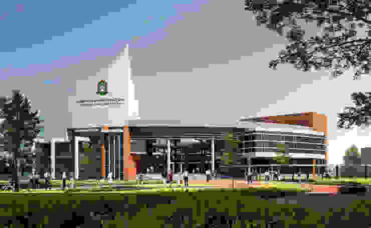 โรงเรียนสาธิต มหาวิทยาลัยราชภัฎลำปาง โดย PM DESIGN co.,ltd