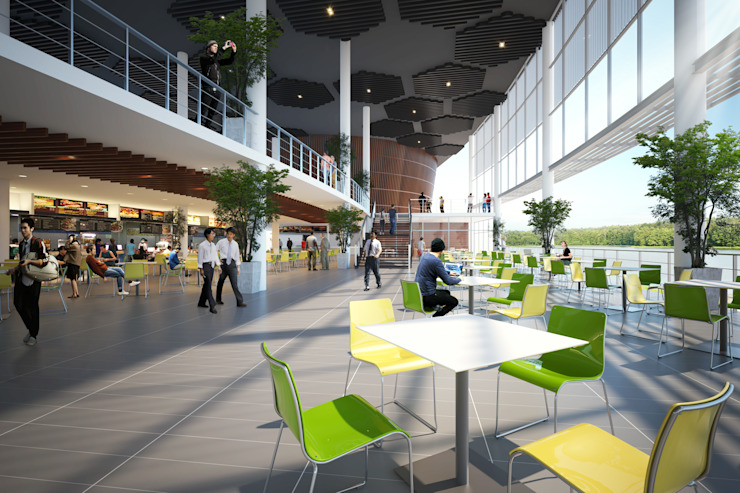กลุ่มอาคารเอนกประสงค์ มหาวิทยาลัยราชภัฏเชียงใหม่ โดย PM DESIGN co.,ltd