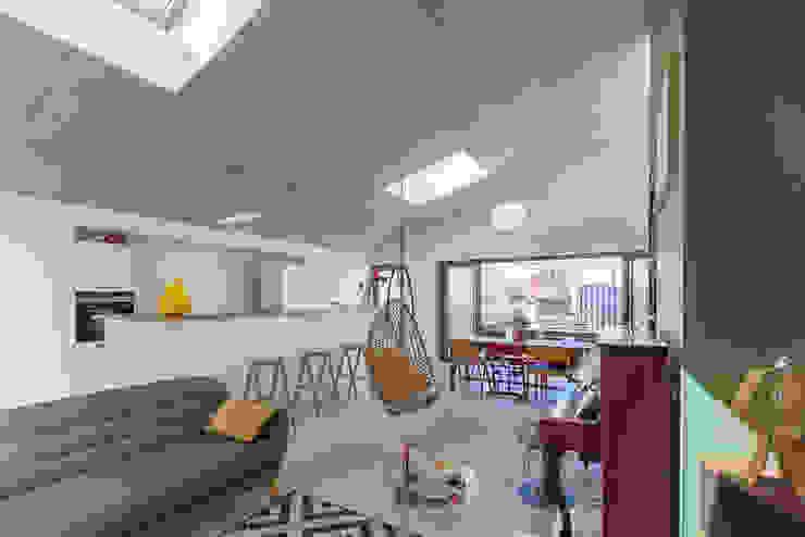 bertin bichet architectes Living room