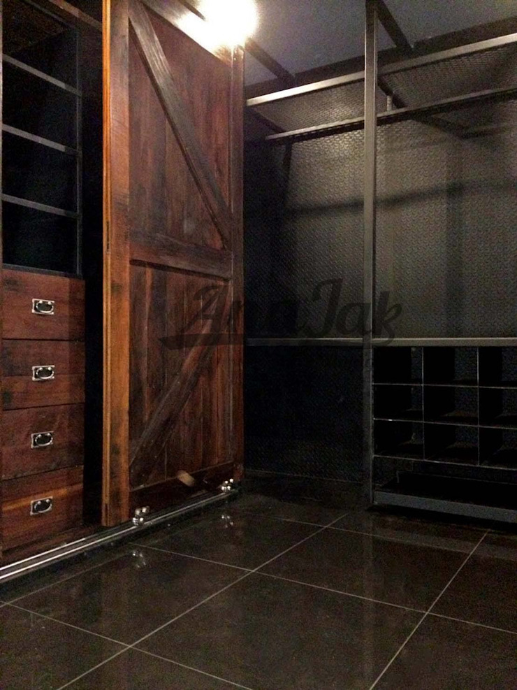 งานรีโนเวท ตกแต่ง บ้านเดี่ยว Style Loft & Industrial โดย บริษัท เน็กซ์โฮมพัฒนา จำกัด