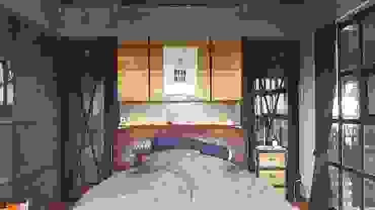 ออกแบบภายในรีโนเวทบ้านอาคารพาณิชย์ บ้านคุณบี สวนสยามซอย 5 โดย Davin Interior Co., Ltd