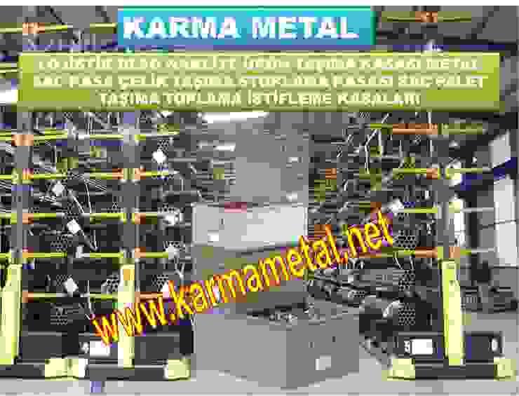 KARMA METAL -Çelik Sac Taşıma Kasaları Kasası Sandık Palet KARMA METAL Endüstriyel