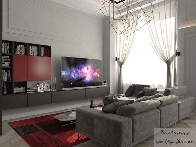 by The Аrt of interior from Olga Kalinina Eclectic
