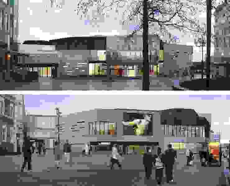 The Crucible theatre, , con Burrell Foley Fischer Architects, Londra Francesca Vezzani