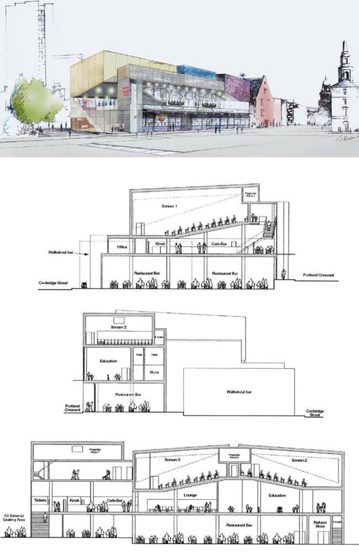 Leeds cinema, con Panter Hudspith Architects, Londra Francesca Vezzani