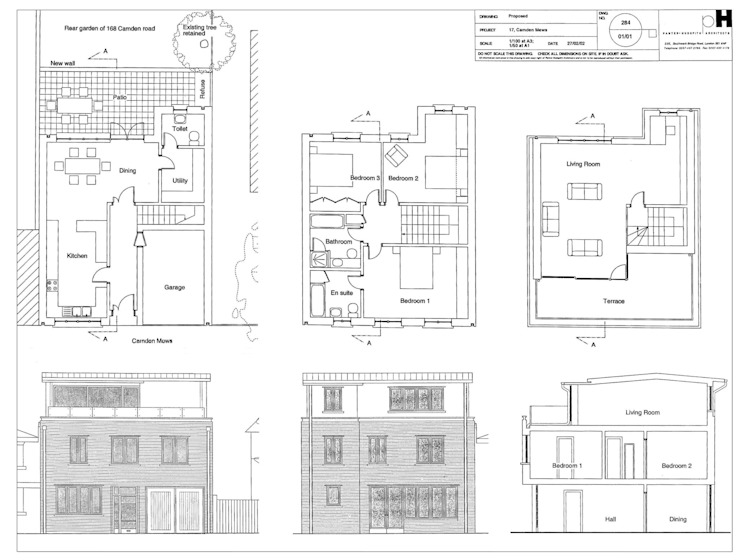 Camden Mews house con Panter Hudspith Architects, Londra Francesca Vezzani