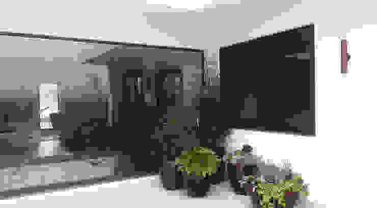 Modern balcony, veranda & terrace by Lá Fora | arquitetura da paisagem Modern