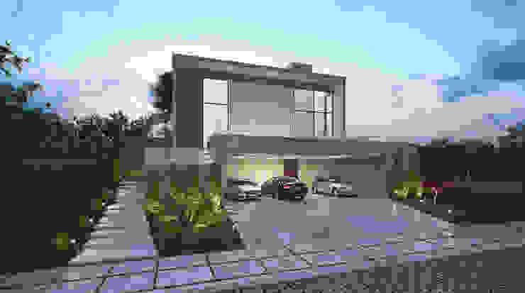 Casas de estilo  por cioli arquitetura e design, Moderno
