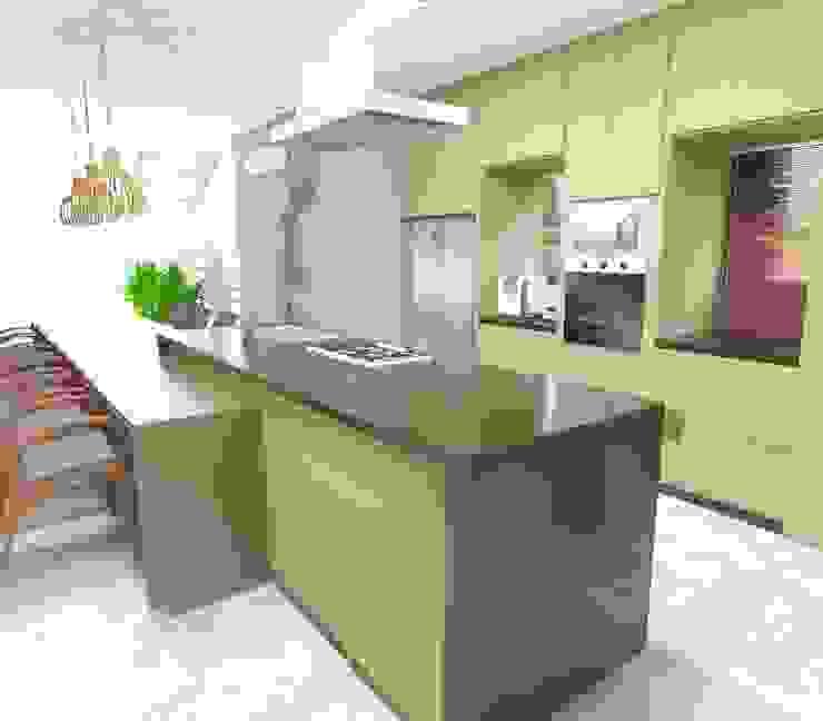 Cozinha Gourmet Ponto Interior Cozinhas rústicas