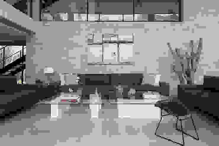 Método Arquitectos Salas de estar minimalistas