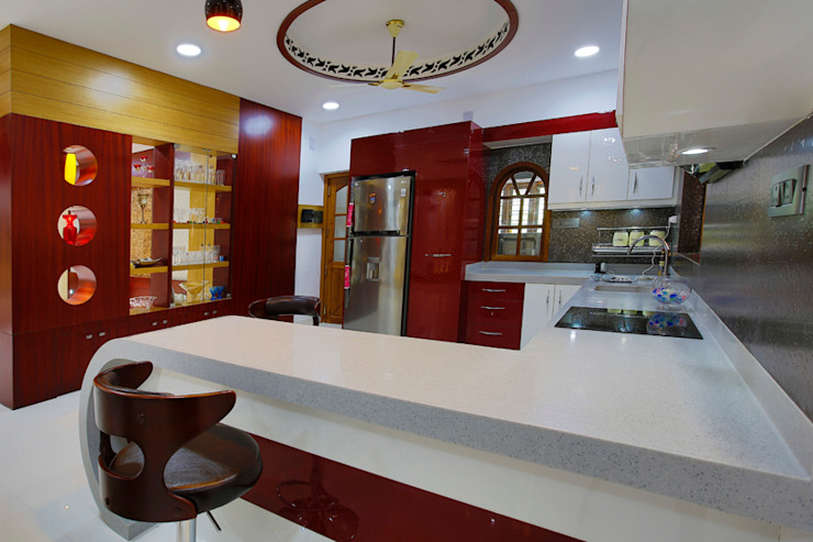 Elegance at Its Best! Classic style kitchen by Premdas Krishna Classic