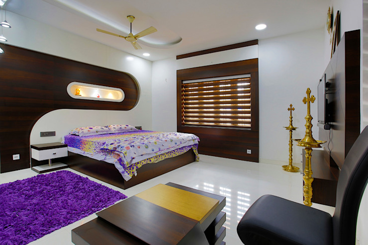 Elegance at Its Best! Classic style bedroom by Premdas Krishna Classic