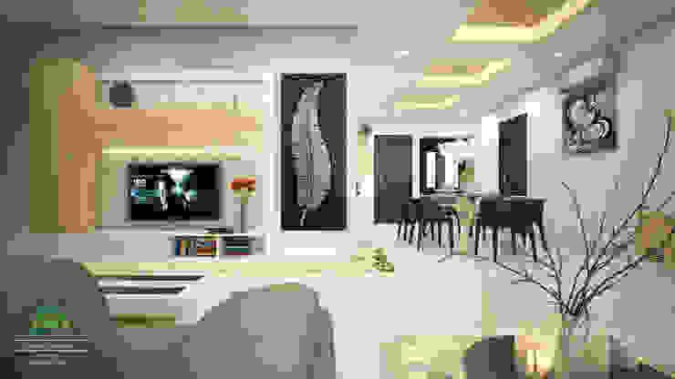 Eye Catching... Classic style living room by Premdas Krishna Classic