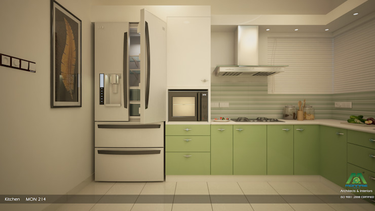 Eye Catching... Classic style kitchen by Premdas Krishna Classic