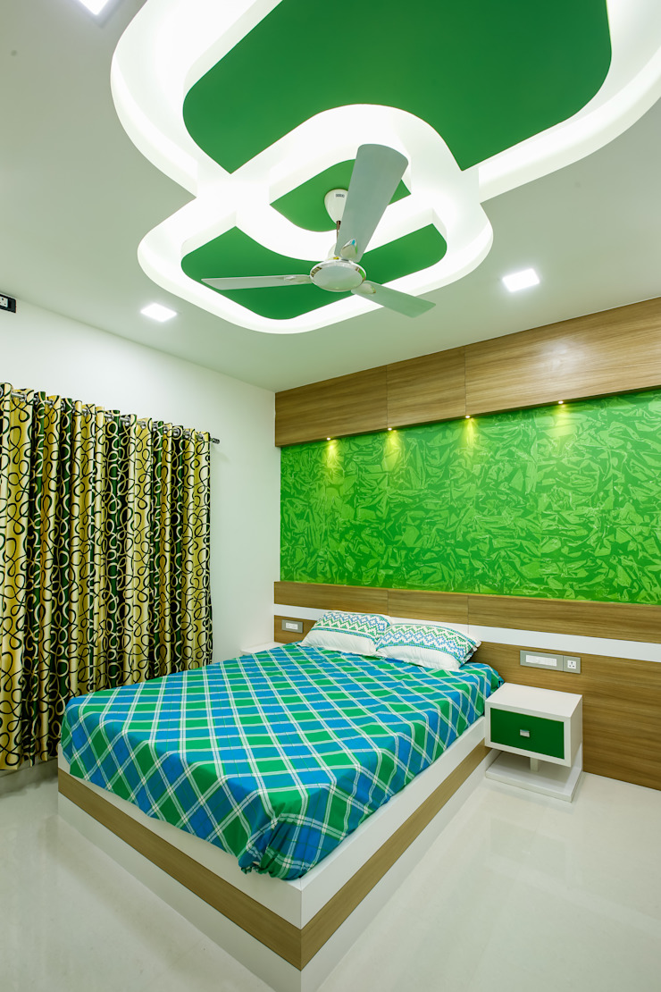 Feel Beauty of Richness.. Classic style bedroom by Premdas Krishna Classic