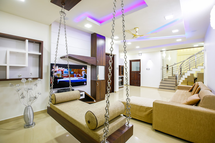 Feel Beauty of Richness.. Classic style living room by Premdas Krishna Classic