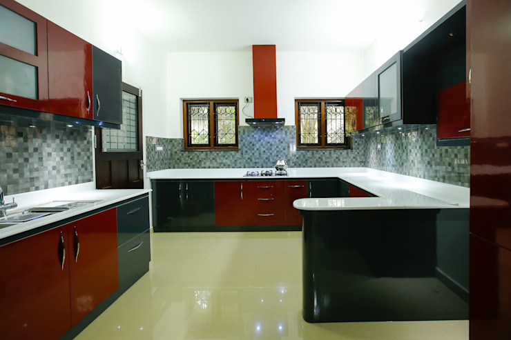 Feel Beauty of Richness.. Classic style kitchen by Premdas Krishna Classic