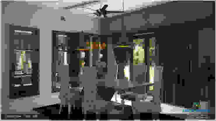 A Modern Elegant Feel Modern dining room by Premdas Krishna Modern