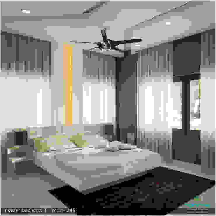A Modern Elegant Feel Modern style bedroom by Premdas Krishna Modern