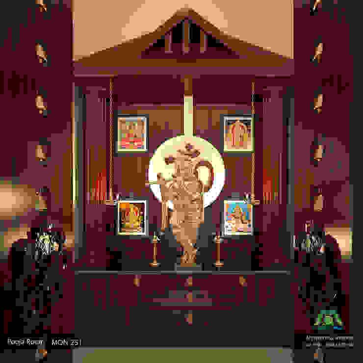 Pasillos y vestíbulos de estilo  de Premdas Krishna , Clásico