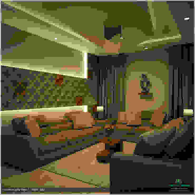 Foliage Beauty... Modern living room by Premdas Krishna Modern
