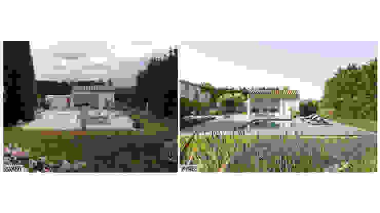 AIX-EN-PROVENCE - Rénovation d'inspiration contemporaine par Agence MORVANT & MOINGEON Méditerranéen