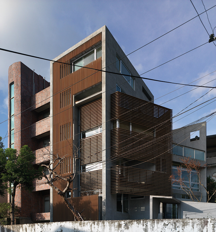 Modern Houses by 前置建築 Preposition Architecture Modern