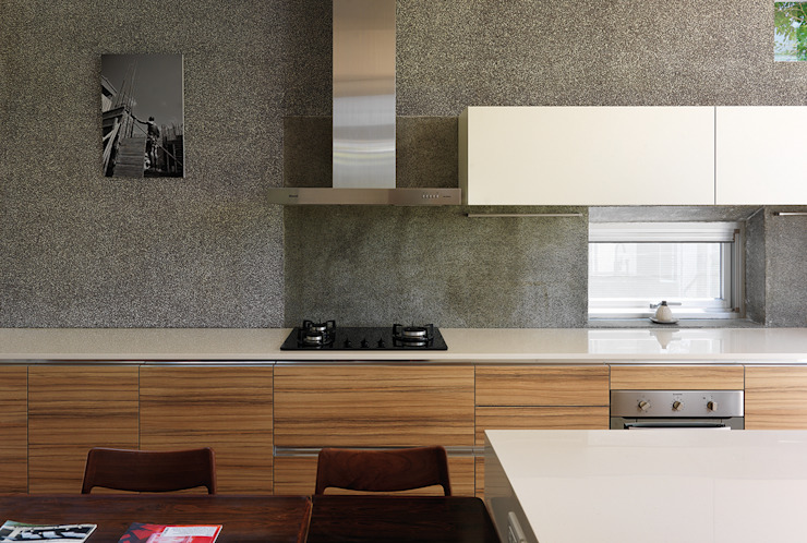 Kitchen by 前置建築 Preposition Architecture,