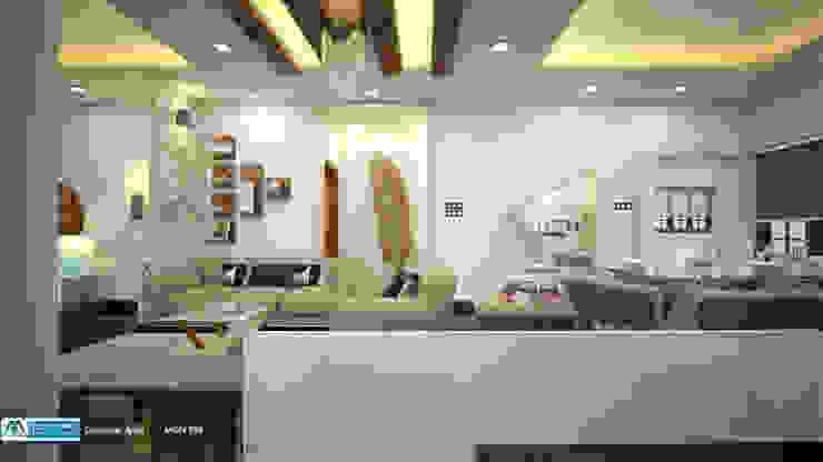 Feel Fresh with Vibrant Design Modern living room by Premdas Krishna Modern