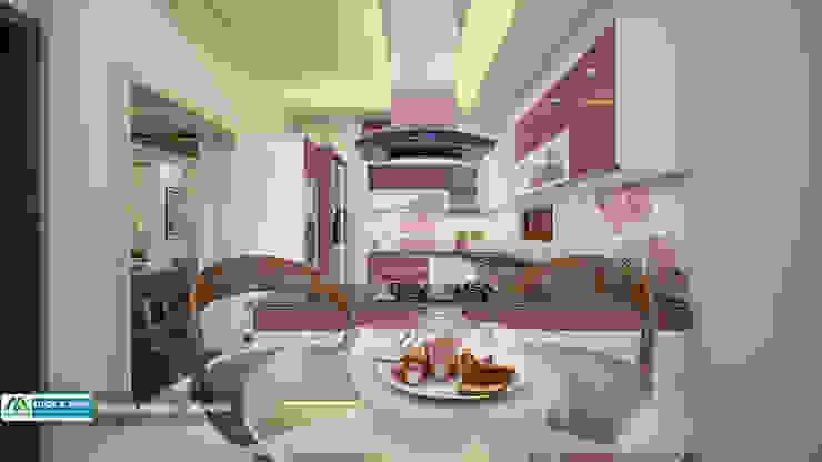 Feel Fresh with Vibrant Design Modern kitchen by Premdas Krishna Modern