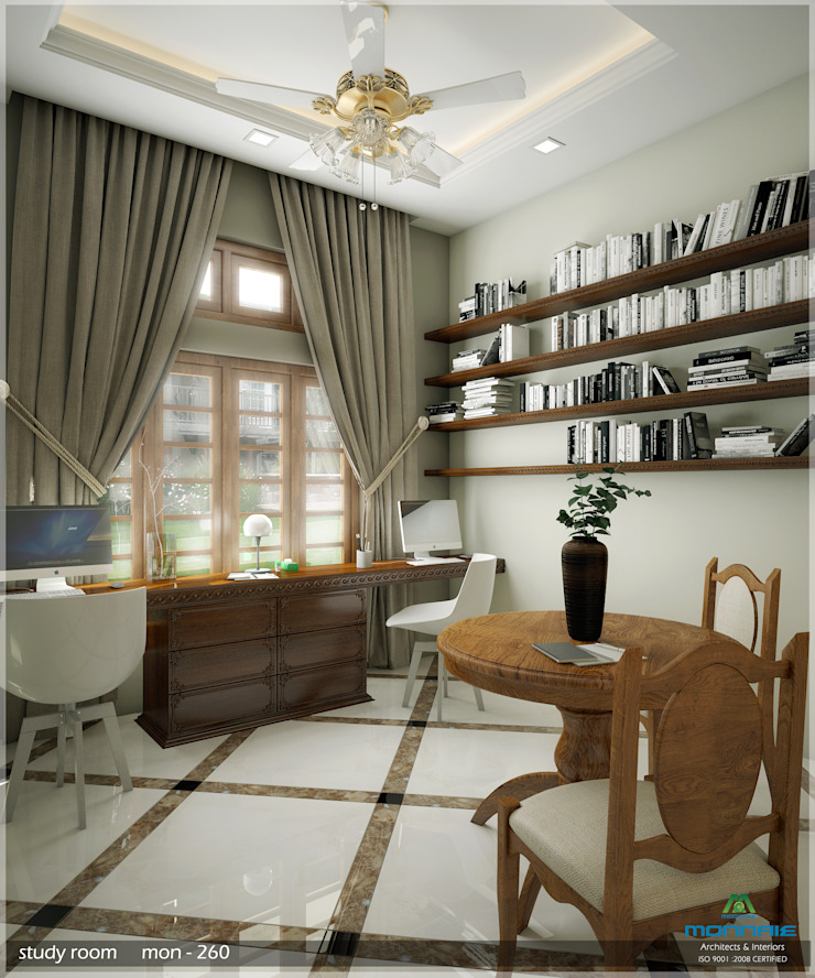 Grand & Striking Classic style living room by Premdas Krishna Classic