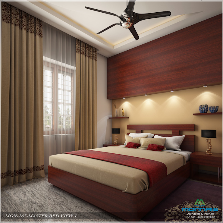 Imposing Design... Modern style bedroom by Premdas Krishna Modern