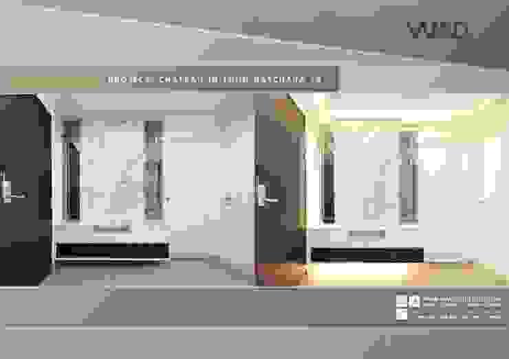 การตกเเต่งภายใน style modern luxury ของ CONDO CHATEAU IN TOWN รัชดา 19 โดย WAD fur design