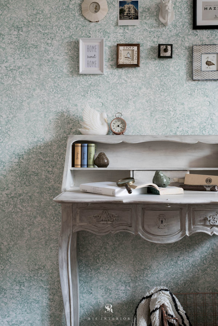 皓慕.Home Home Amore:  國家  by 理絲室內設計有限公司 Ris Interior Design Co., Ltd., 鄉村風