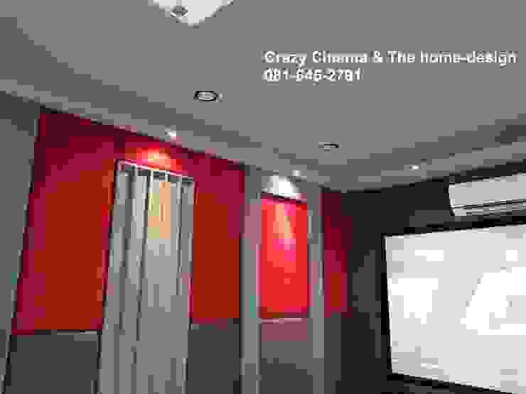 ตกแต่งห้องดูหนังบ้านคุณ อมร ครับ โดย the home-design
