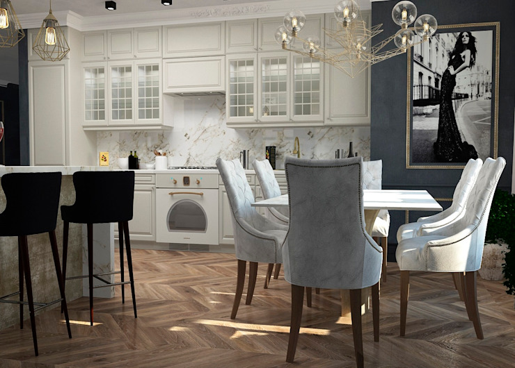 Classic style kitchen by Дизайн Мира Classic