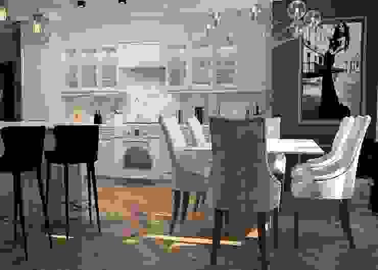 Cocinas de estilo clásico de Дизайн Мира Clásico