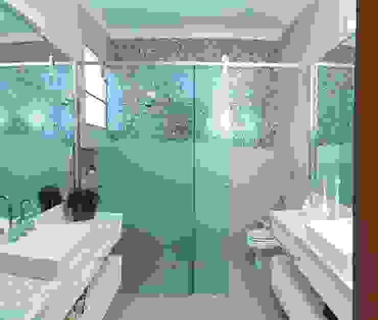 ห้องน้ำ by mariaeunicearquitetura