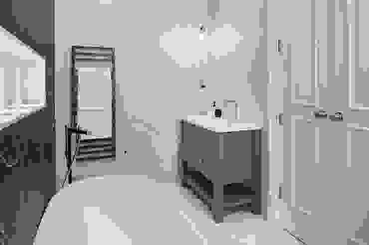 Hampstead Heath Home Minimalist bathroom by Jigsaw Interior Architecture Minimalist Marble