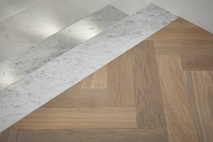 Hampstead Heath Home Minimalist corridor, hallway & stairs by Jigsaw Interior Architecture Minimalist