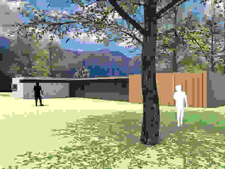 CASA MISLE Casas estilo moderno: ideas, arquitectura e imágenes de homify Moderno Madera Acabado en madera