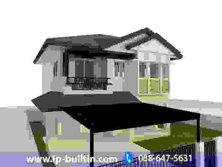 ตกแต่งภายใน บ้าน มัณฑณา หน้าบ้าน โดย IP BUILT IN