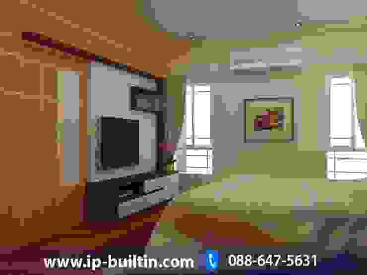 ตกแต่งภายใน บ้าน มัณฑณา ห้องนอนใหญ่ โดย IP BUILT IN