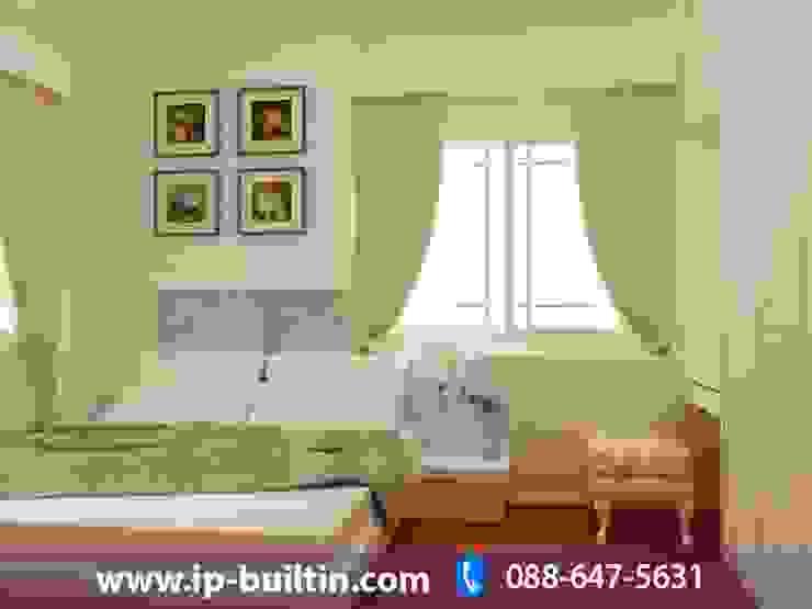 ตกแต่งภายใน บ้าน มัณฑณา ห้องนอน โดย IP BUILT IN